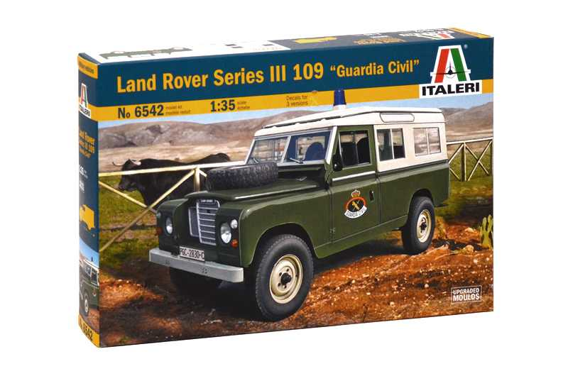 "1:35 LAND ROVER III 109 ""Guardia Civil"""