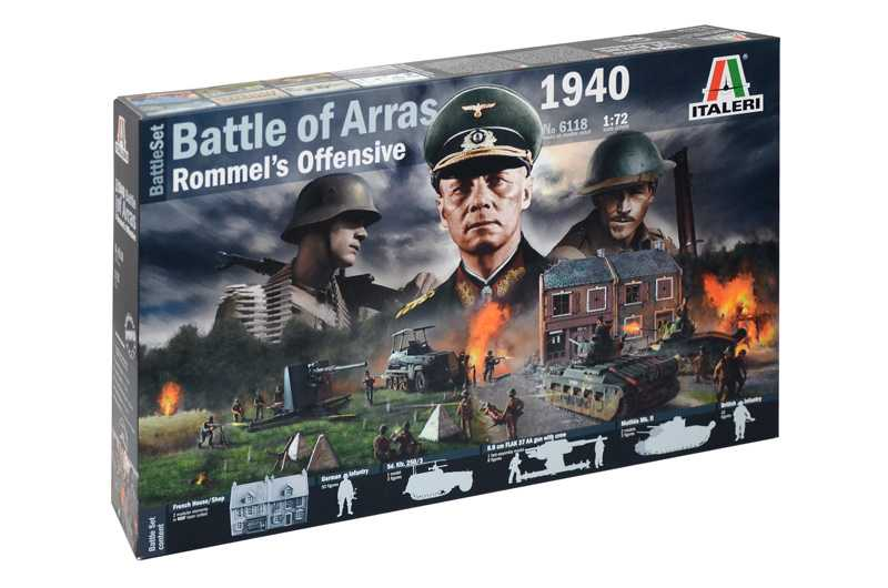 1:72 WWII BATTLESET - Battle of Arras 1940 - Rommel's Offensive