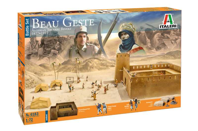 1:72 Beau Geste – Algerian Tuareg Revolt