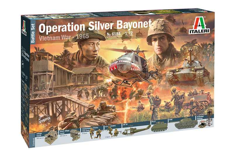 1:72 Operation Silver Bayonet 1965