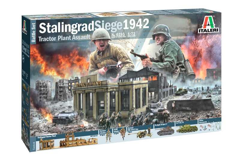 1:72 Stalingrad Siege 1942