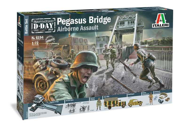 1:72 Pegasus Bridge Airborne Assault