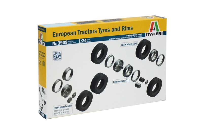 1:24 EUROPEAN TYRES and RIMS