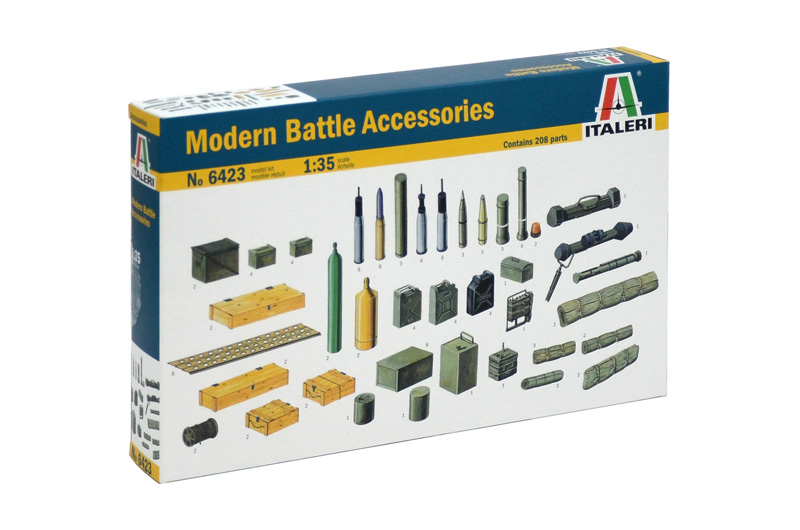 Italeri diorama - MODERN BATTLE ACCESSORIES (1:35)