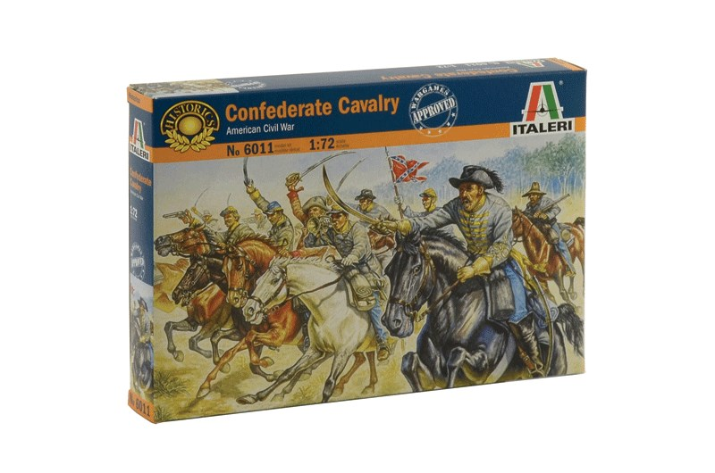 1:72 Confederate Cavalry (American Civil War)
