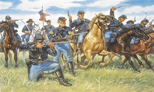 Náhľad produktu - 1:72 Union Cavalry (American Civil War)