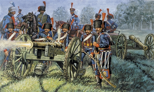 1:72 French Artillery (Napoleonic Wars)
