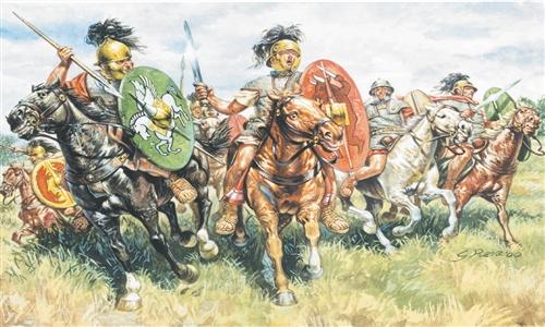 View Product - 1:72 Roman Cavalry (I–II Century B.C.)