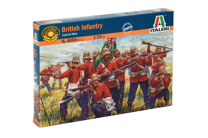 Náhľad produktu - 1:72 British Infantry, Zulu War (1879)