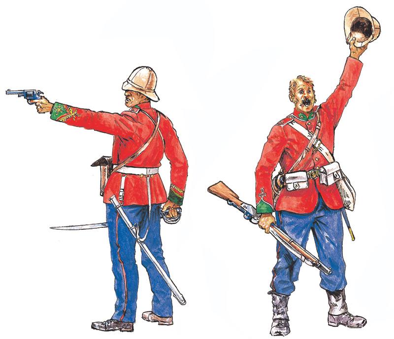 1:72 British Infantry, Zulu War (1879)