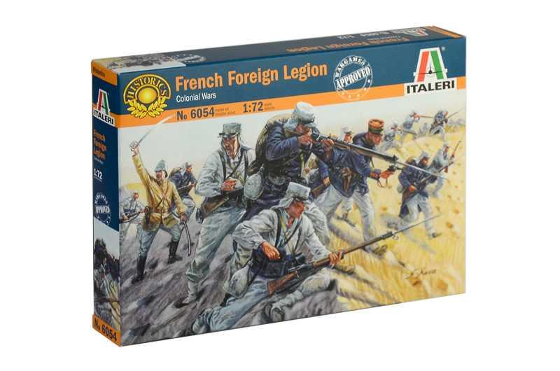 Náhľad produktu - Italeri figurky - francouzská cizinecká legie (1:72)
