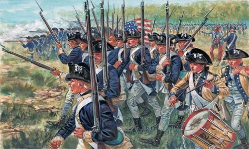 Náhľad produktu - 1:72 American Infantry (American Independence War)