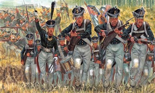 1:72 Russian Infantry (Napoleonic Wars)