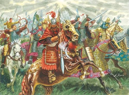 1:72 Chinese Cavalry (XIII Century)