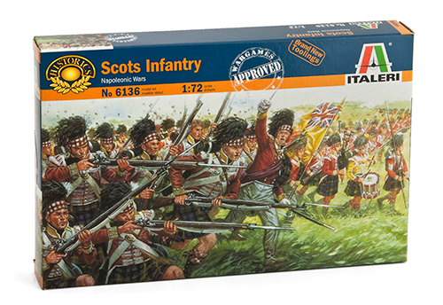1:72 Scottish Infantry (Napoleon Wars)