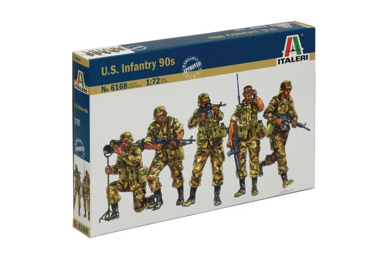 Náhľad produktu - 1:72 U.S. Infantry (1980)