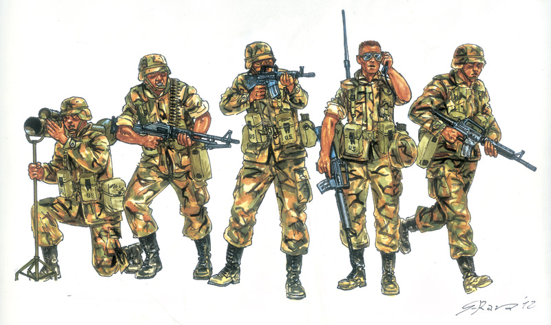 1:72 U.S. Infantry (1980)