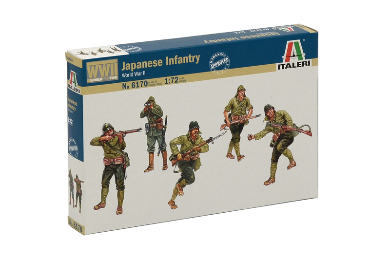 1:72 Japanese Infantry (WWII)