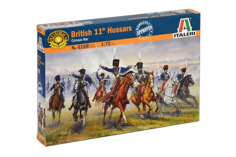 1:72 British 11th Hussars (Crimea War)