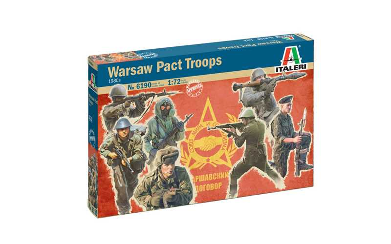 1:72 Warsaw Pact Troops (1980)