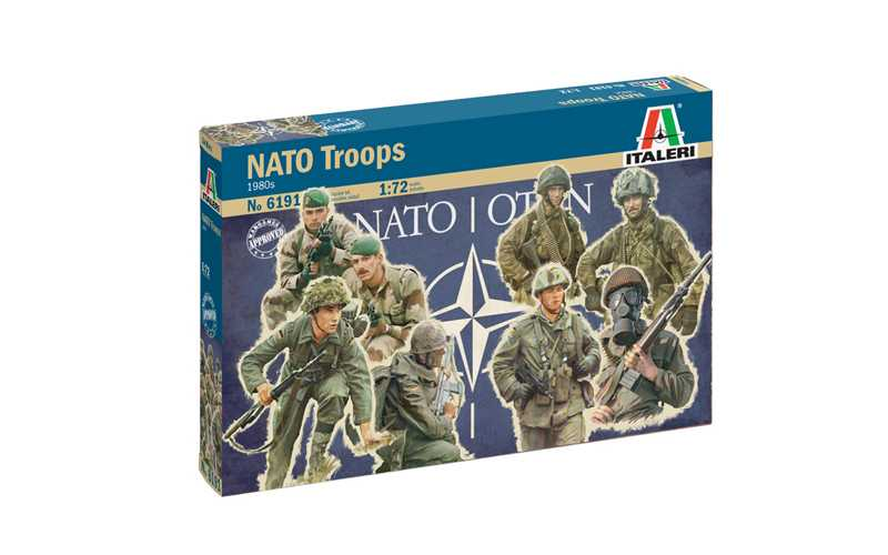 1:72 NATO Troops (1980)