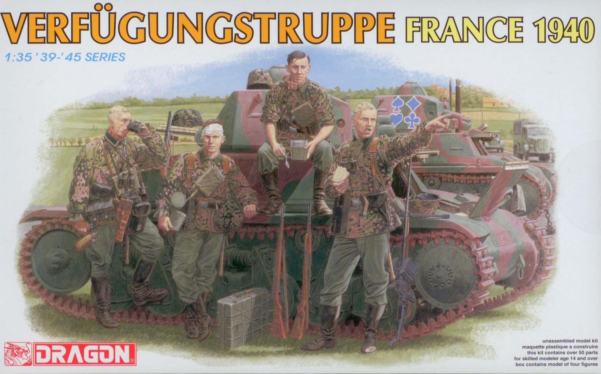 1:35 Verfügungstruppe, France, 1940