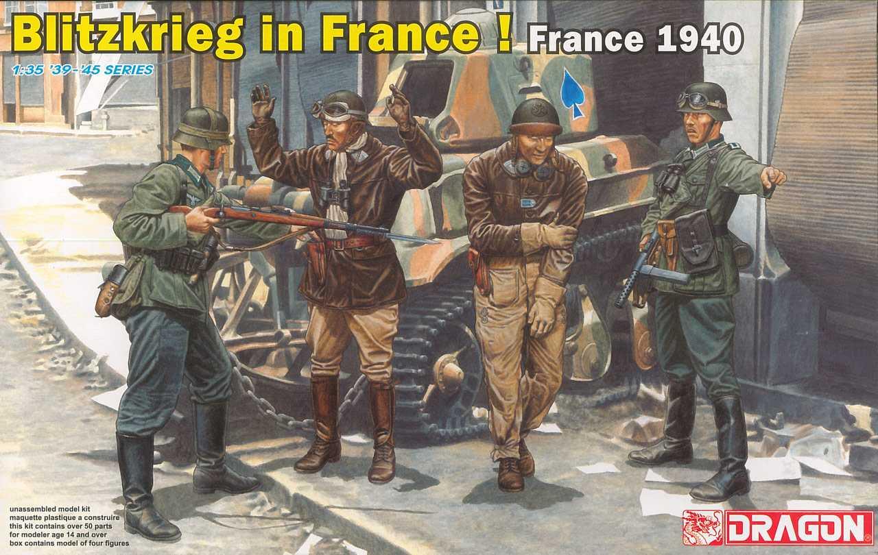 1:35 Blitzkrieg in France! (France 1940)