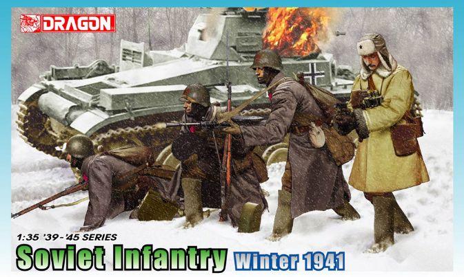 1:35 Soviet Infantry, Winter 1941