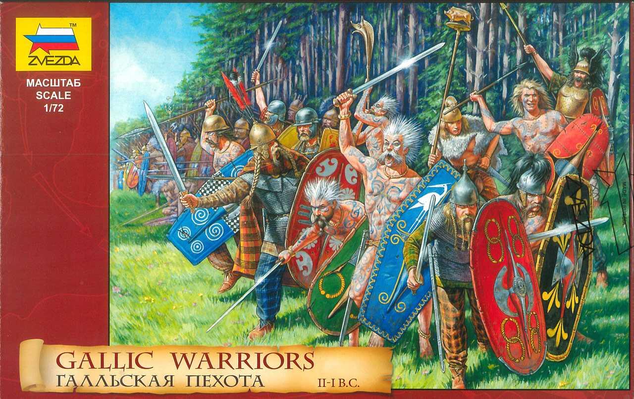1:72 Gallic Warriors