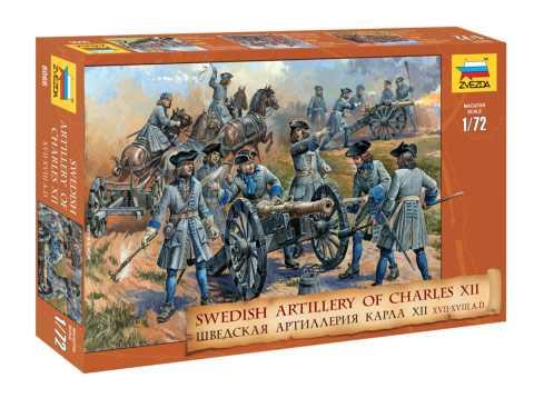 1:72 Švédski delostrelci (reedícia)