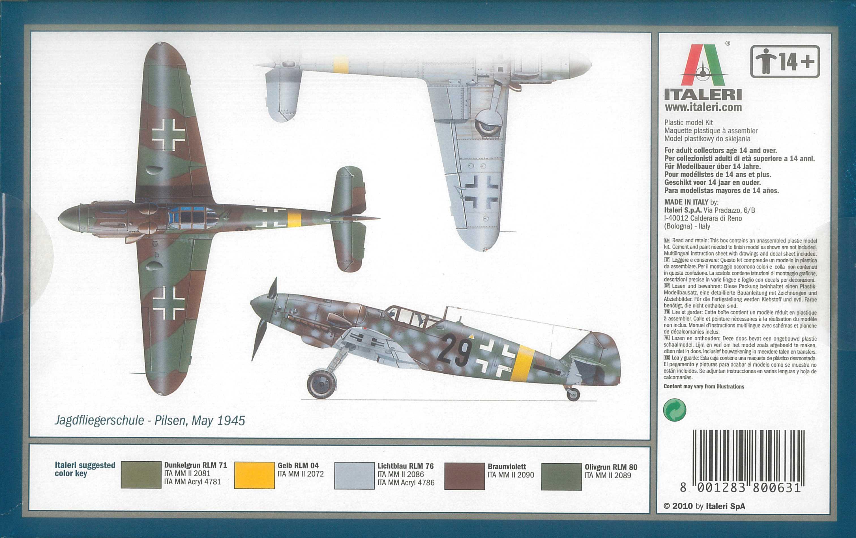 1:72 Messerschmitt Bf 109 G-6
