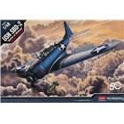 Model Kit letadlo 12335 - USN SBD-2