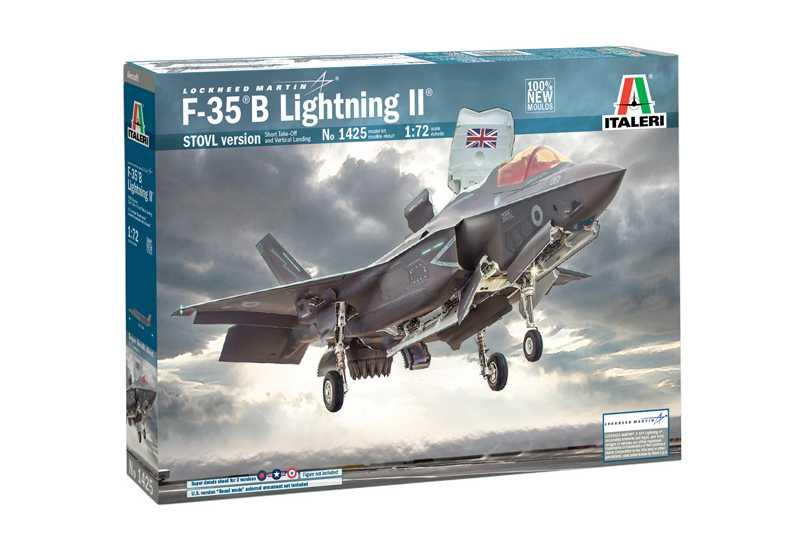 1:72 Lockheed Martin F-35 B Lightning II (STOVL Version)