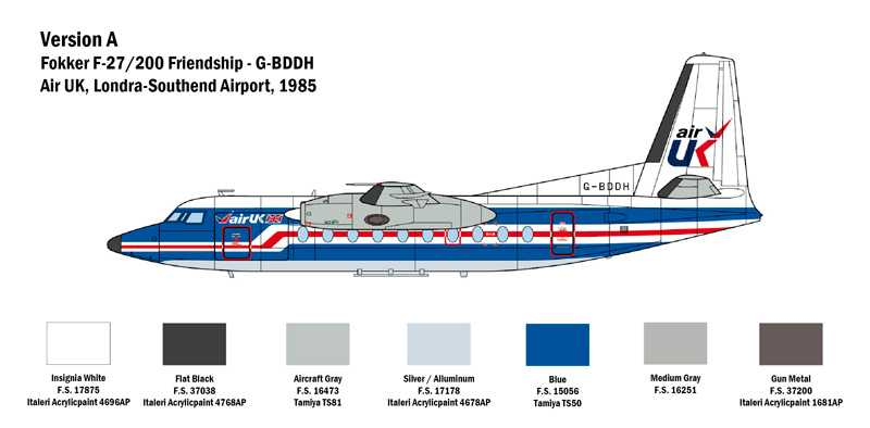 1:72 Fokker F27 Friendship