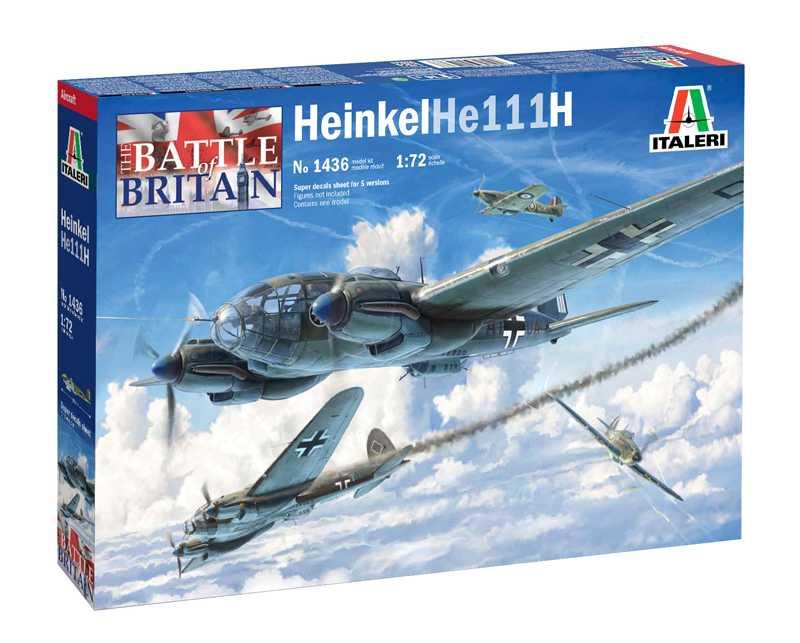 Náhľad produktu - 1:72 Heinkel He 111 H