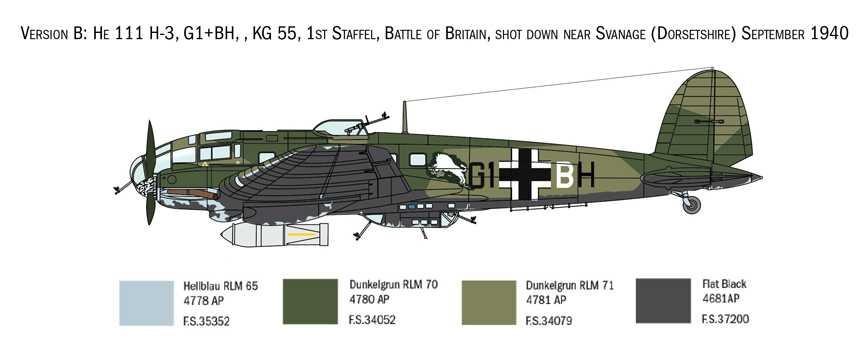 1:72 Heinkel He 111 H