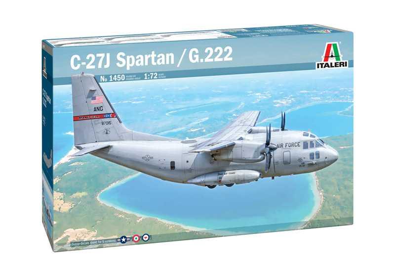 1:72 Alenia C-27A Spartan / G.222