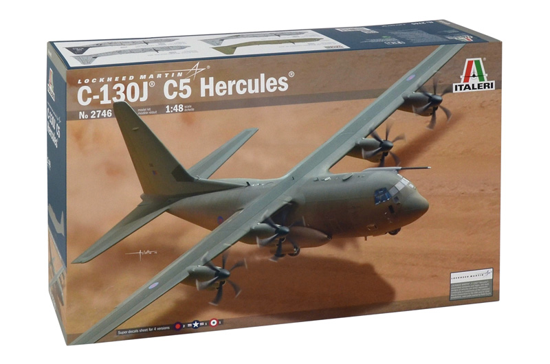 Model Kit letadlo 2746 - C-130J C5 HERCULES (1:48)