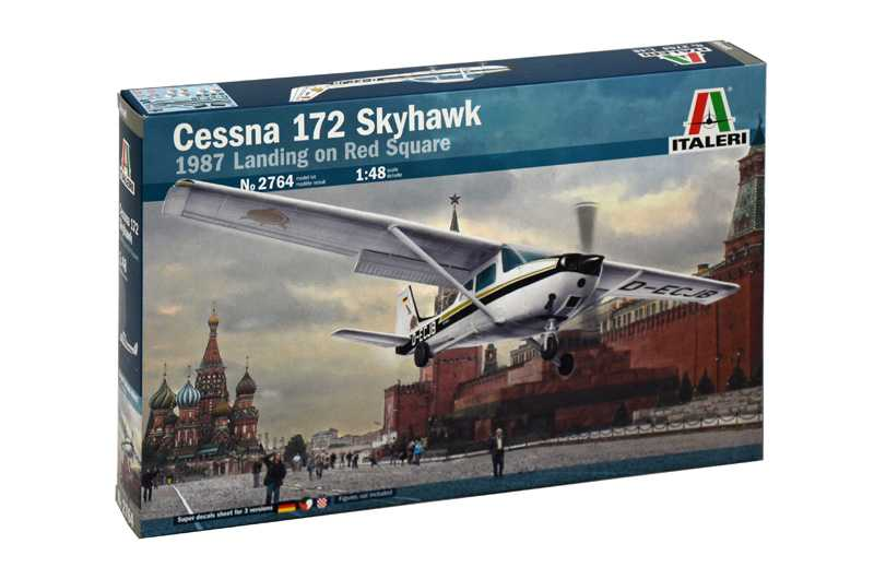 View Product - 1:48 Cessna 172 Skyhawk – 1987 Landing on Red Square