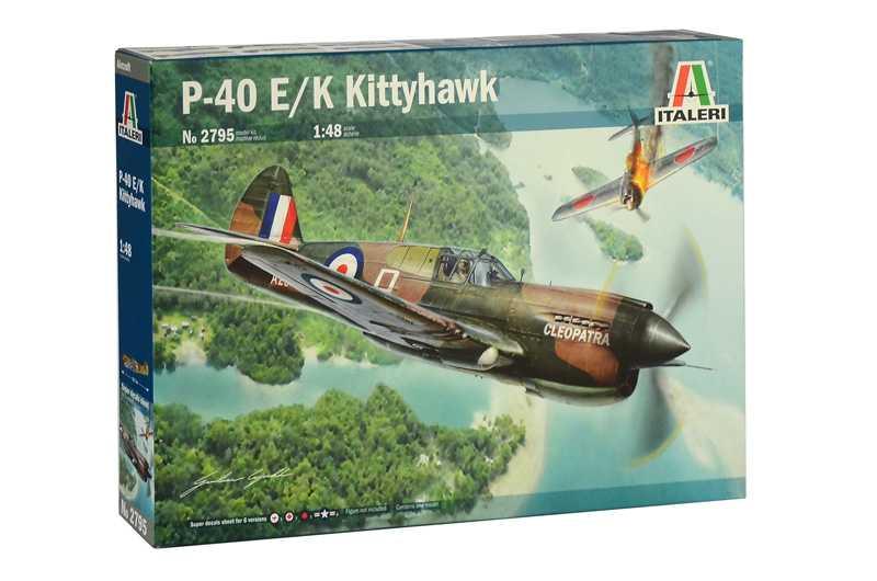 1:48 Curtiss P-40E/K Kittyhawk