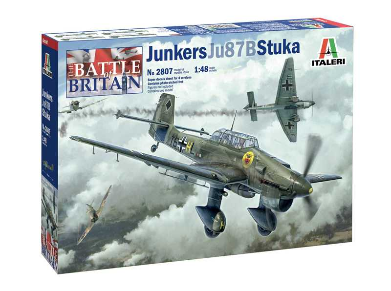 1:48 Ju-87B Stuka - Battle of Britain 80th Anniversary