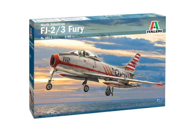 1/48 Plastikový model - letadlo 2811 - North American FJ-2/3 Fury