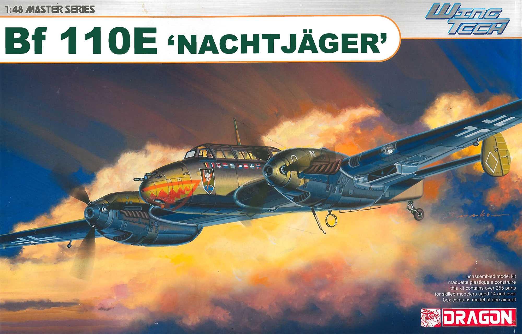 """1:48 Messerschmitt Bf 110 E """"Nachtjäger"""""""