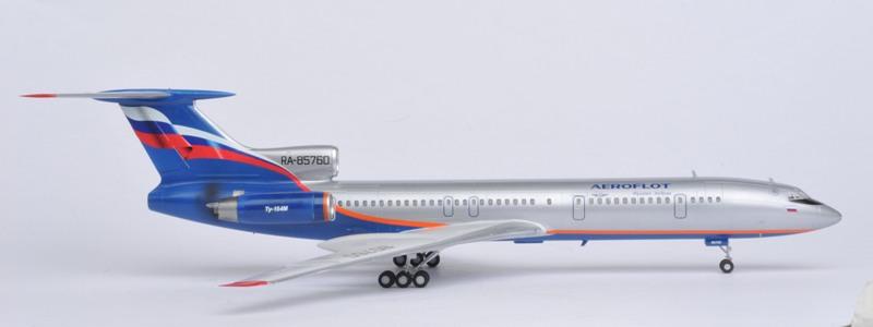 Zvezda Tupolev Tu-154M (1:144)