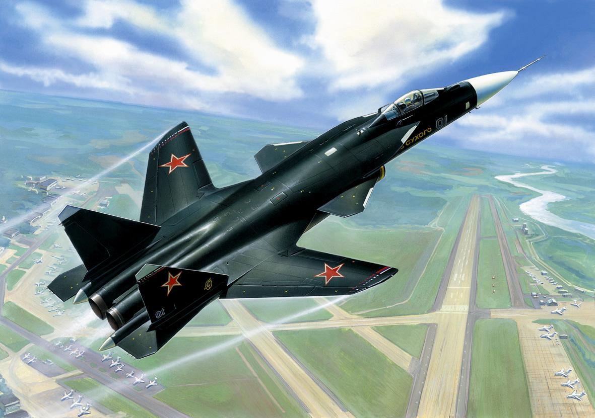 1:72 Sukhoi Su-47 ″Berkut″