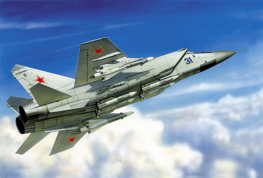 1:72 MiG-31