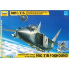 Model Kit letadlo 7244 - MIG-31B FOXHOUND (re-release) (1:72)