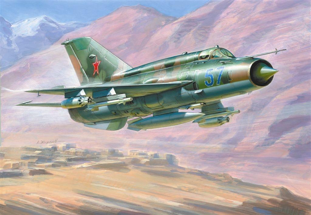Zvezda MIG-21 BIS Soviet Fighter (1:72)