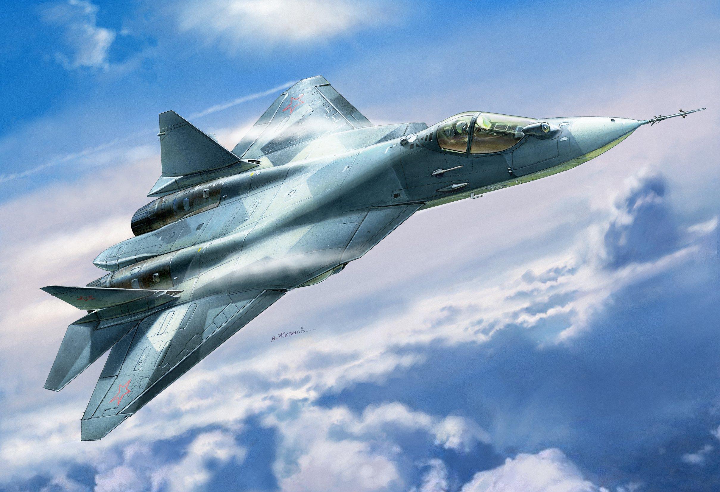 1:72 Sukhoi Su-50 (T-50)