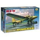 Model Kit letadlo 7280 - Petlyakov Pe-8 ON Stalin�s Plane (re-release) (1:72)